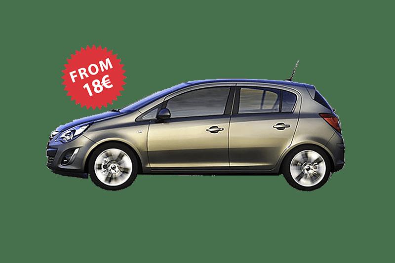 Rent a car Beograd opel corsa