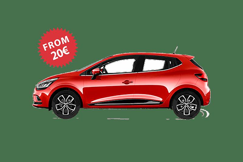 Rent a car Beograd renault clio