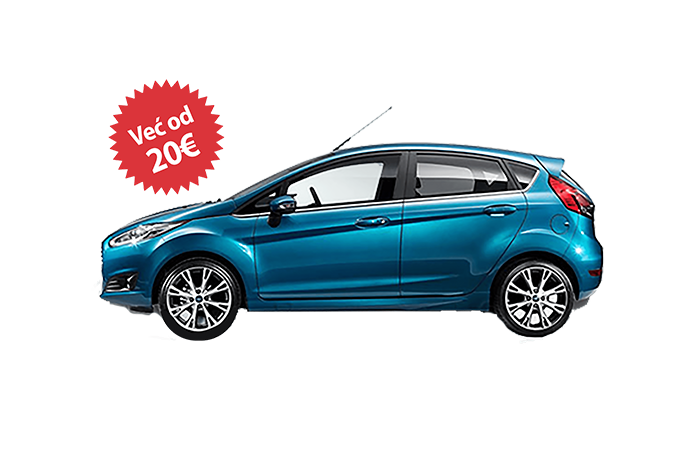 Rent a car - Ford Fiesta