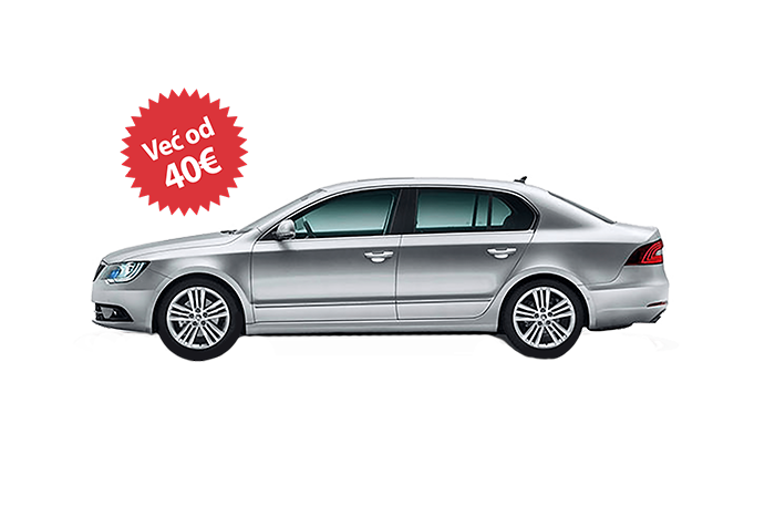 Rent a car Beograd skoda superb