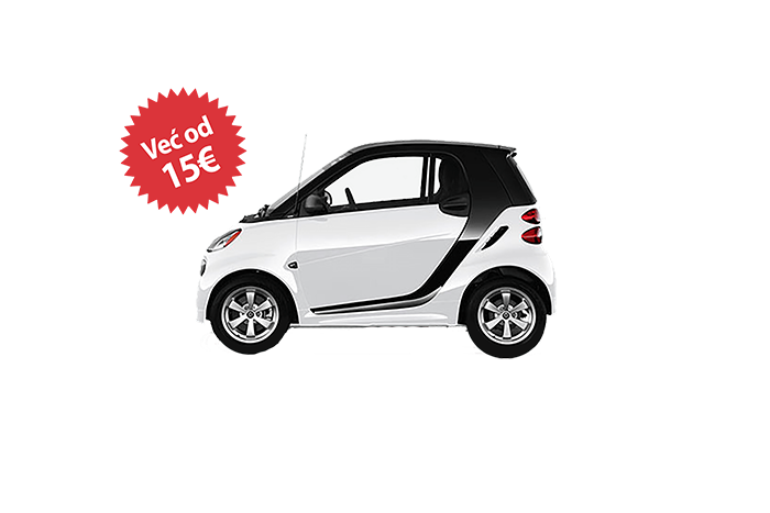 Rent a car Beograd smart for two