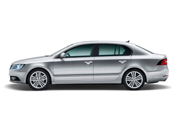 rent a car u skoda superb
